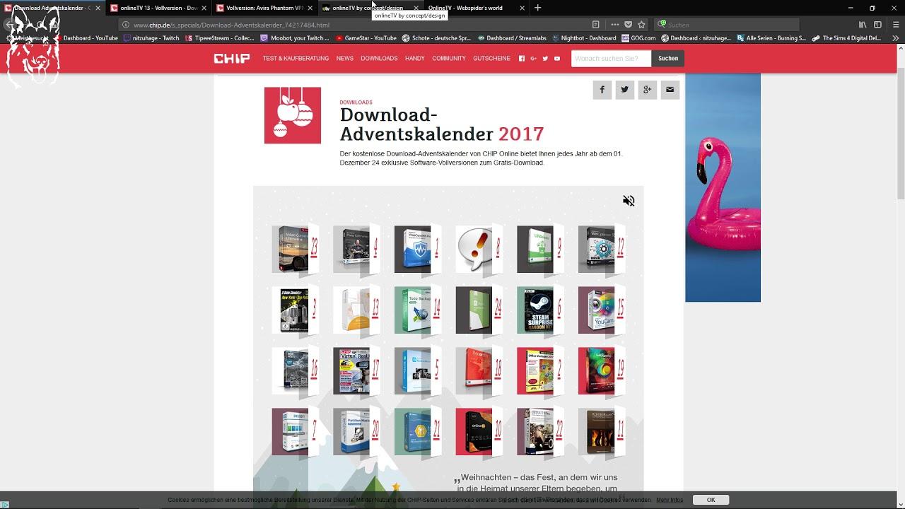 Chip. De adventskalender 2017 tür nr. 24 und zusammenfassung youtube.