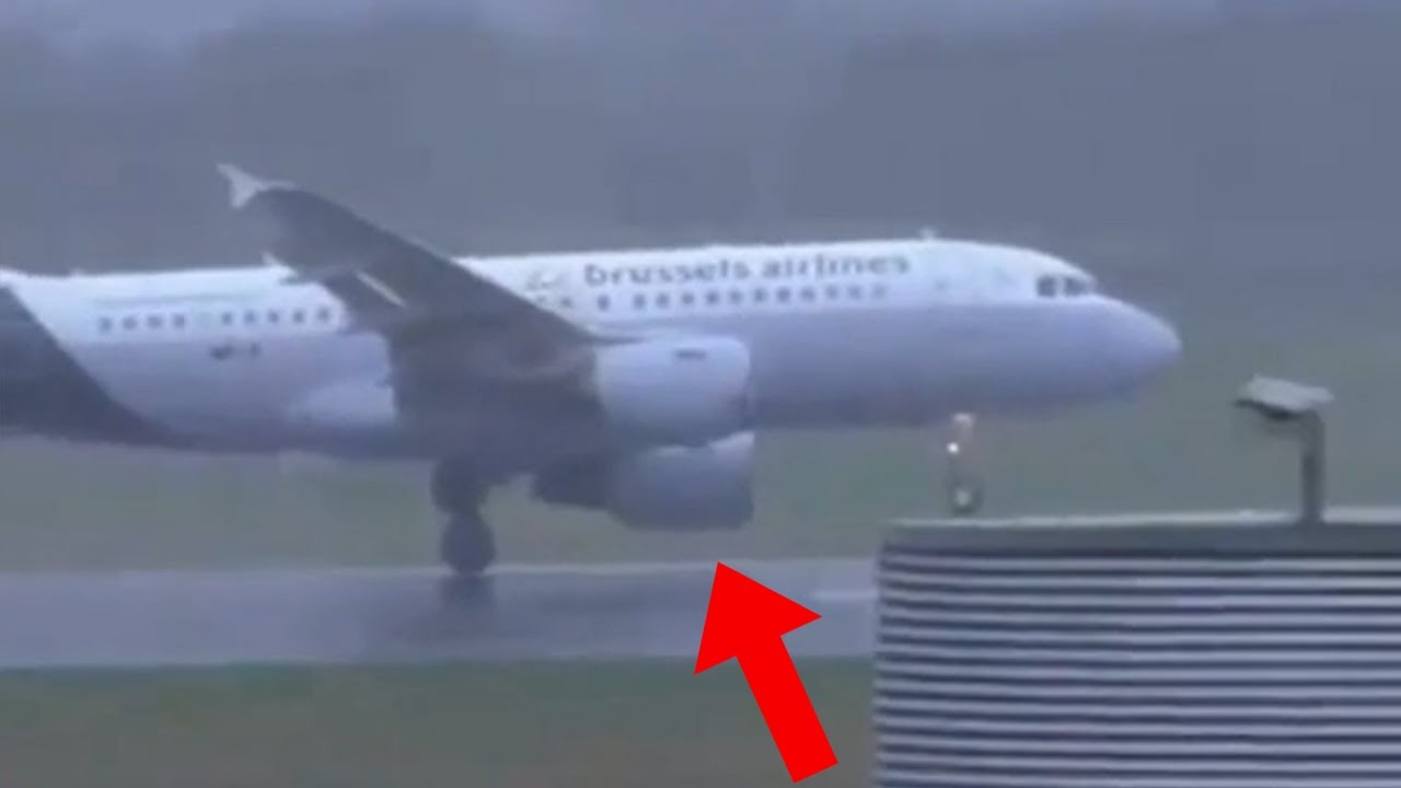 Near Engine STRIKE In Storm - Daily dose of aviation