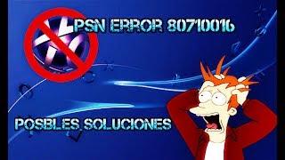 soluciones para el error de psn ps3 2017