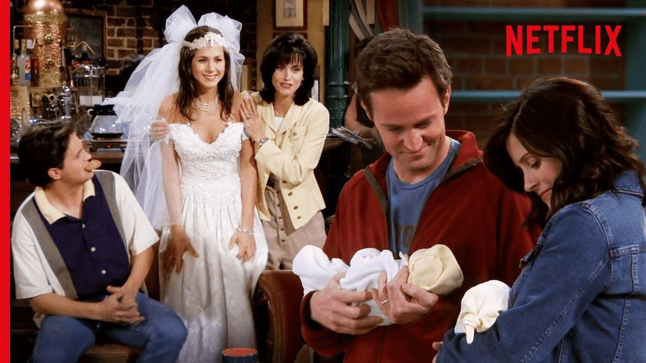 The First & Last Scene of Friends | Netflix
