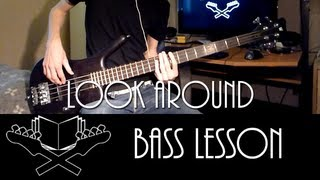 Look Around - Red Hot Chili Peppers [Bass Lesson]