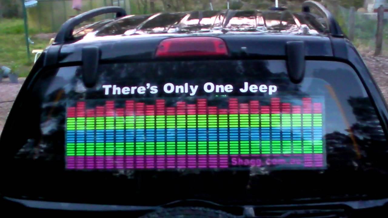 Car Sound Equalizer >> Car Equalizer Sticker Australia - YouTube