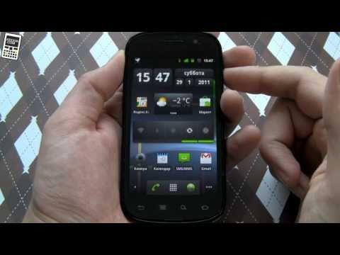 Обзор Google Nexus S и Android 2.3