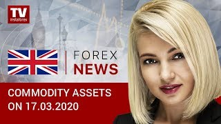 InstaForex tv news: 17.03.2020: Oil recovers slightly but bearish trend remains in place (Brent, USD/RUB)