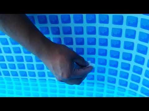 Como reparar piscina inflable intex doovi - Parches para piscinas desmontables ...