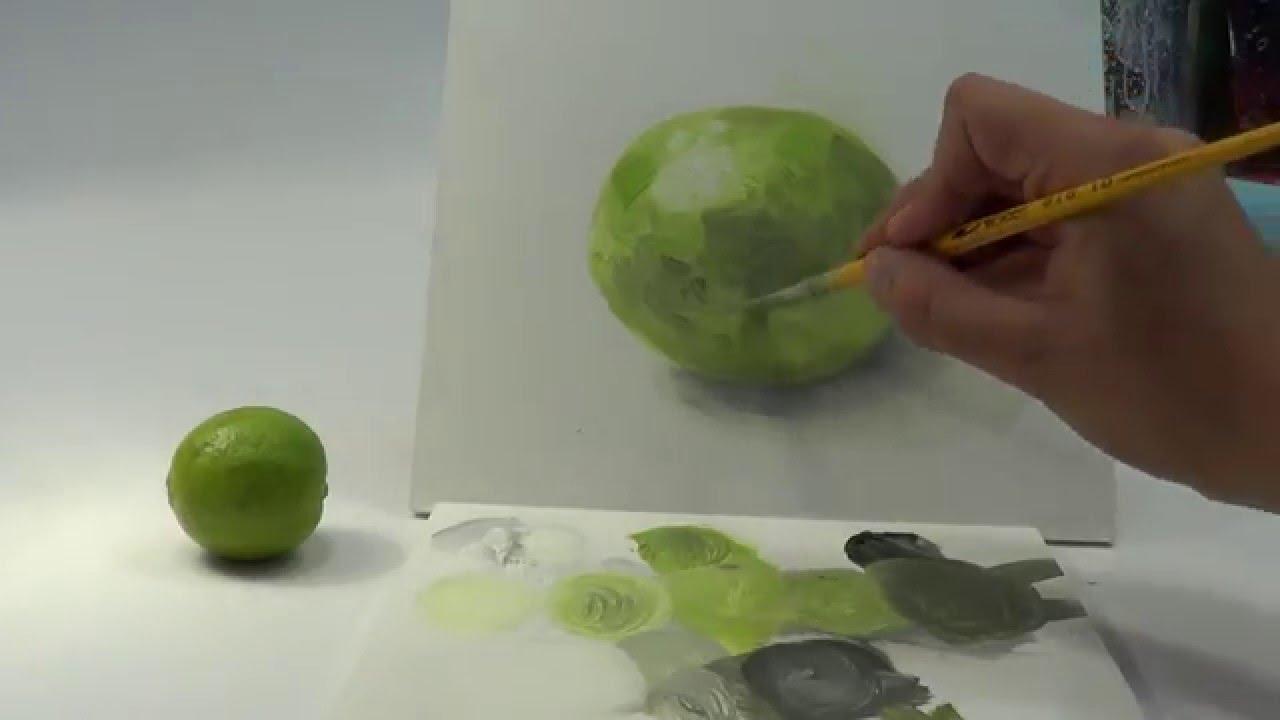 Ejercicio para principiantes 2 pintura al leo o acr lico - Cuadros para principiantes ...