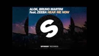 Alok Bruno Martini Feat ZEEBA Hear Me Now Audio