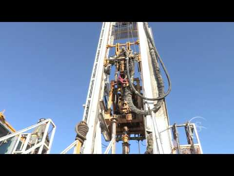 Integrated Top Drive - Savanna CT1500 Hybrid Drilling Rig