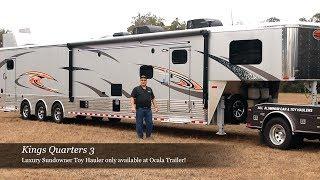 Kings Quarters 3 - Luxury Toy Hauler by Ocala Trailer