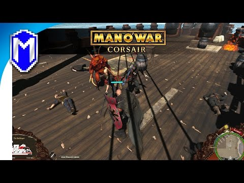 Boarding The Pirates And Attacking The Empire - Warhammer Man O' War: Corsair Chaos Gameplay Part 2