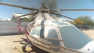 Agusta A109C Max Medevac and Rescue Helicopter