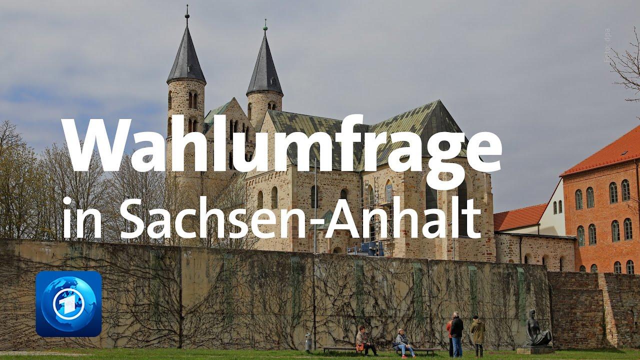 Sachsen Anhalt Umfrage Vor Der Landtagswahl Youtube