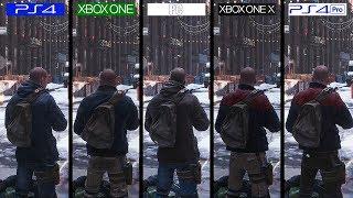 The Division | ONE X vs PS4 Pro vs PC vs PS4 vs ONE | Graphics Comparison