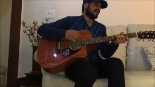 GERUA | DILWALE | SRK | ARIJIT SINGH |  GUITAR | COVER | ANGADJEET SINGH
