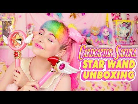 ♡ CARDCAPTOR SAKURA STAR WAND VS CLOW WAND ♡