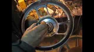 Вклейка неодимового магнита в динамик(В результате перегрева катушки расклеилась магнитная система динамика., 2013-11-05T19:59:38.000Z)