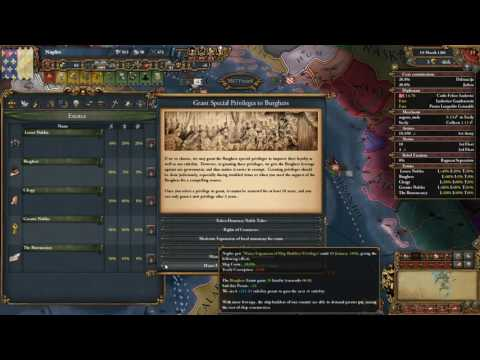 EU4: Meiou and Taxes 2.0, Dev Video 5: Estates I