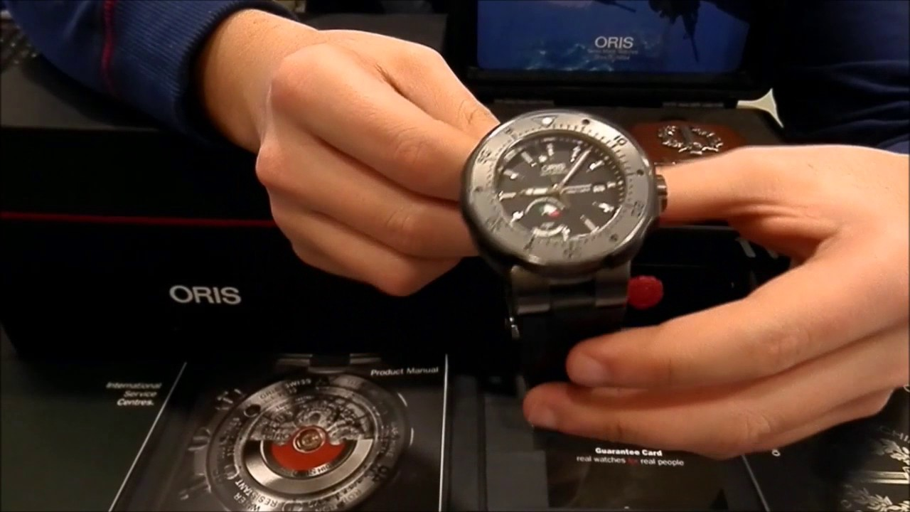 Introducing: the oris prodiver dive control limited edition (live.