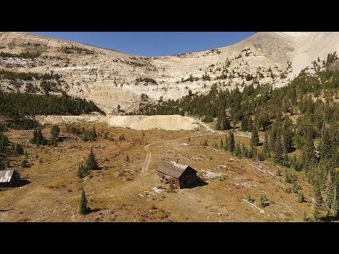Lion City And Hecla Mines - A Montana Ghost Town - Near Melrose, Montana MT