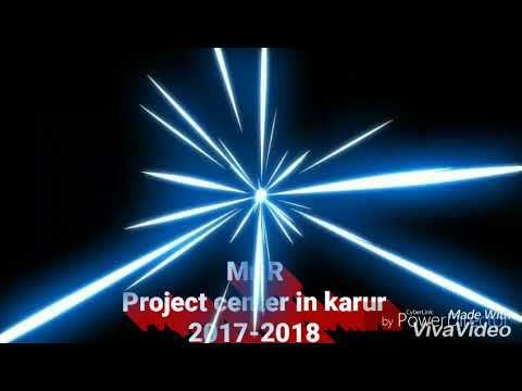 Mechanical engineering Project center in karur pasupathipalayam tamilnadu ENGINEERING PROJECTS 2018