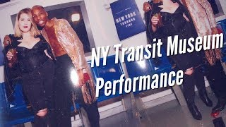 VLOG: Performing for Chase Bank w/ NY Transit Museum | Tay Dollaz & Chauncey Dominique