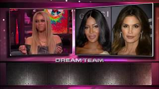Tyra Banks rates her fellow supermodels