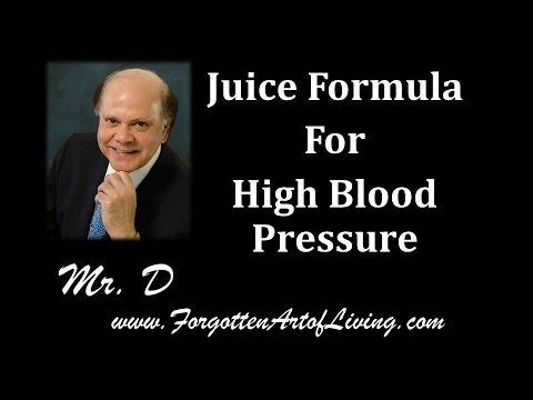 Juice Formula For High Blood Pressure