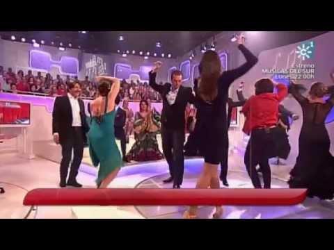 Eva González en Se Llama Copla, por sevillanas (26/04/2014)