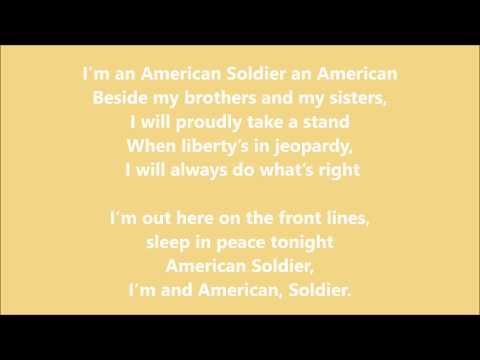 Toby Keith - American Soldiers lyrics