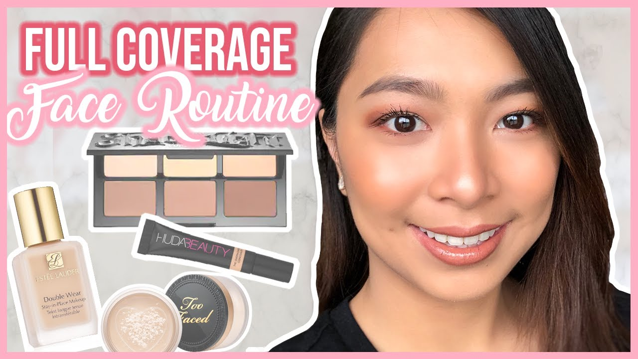 Flawless Face Foundation Routine For Dry Skin + Brow ...