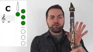 Clarinet - The 5-Note Scale (C D E F G)