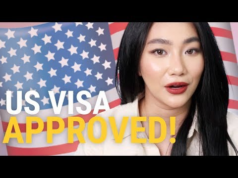 US VISA APPROVED On First Attempt..HOW?! | Raiza Contawi