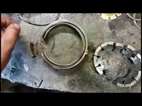 Destroyed 4L60e Pump