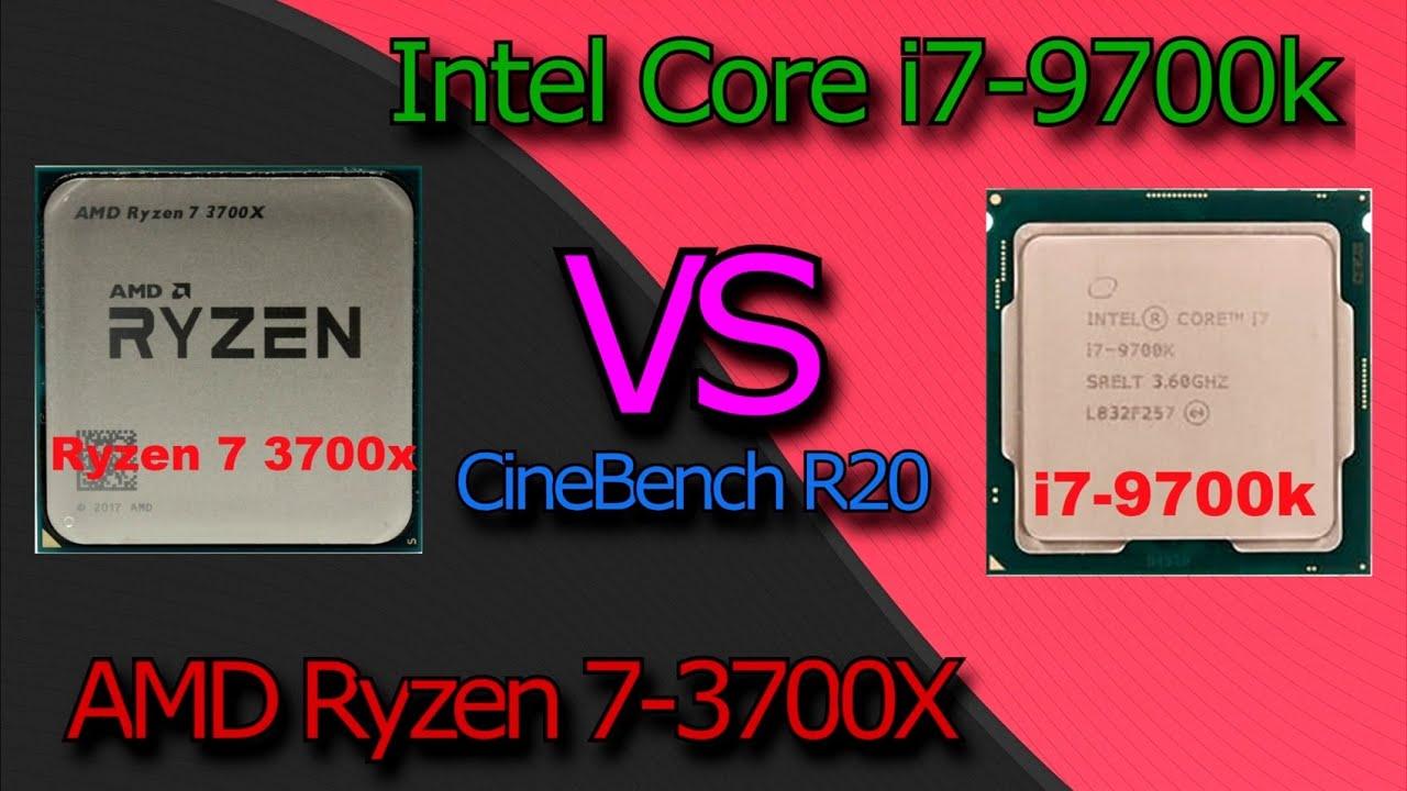 Ryzen 7 3700x против Core i7 9700K - что круче?!   Аркадий Вежнин