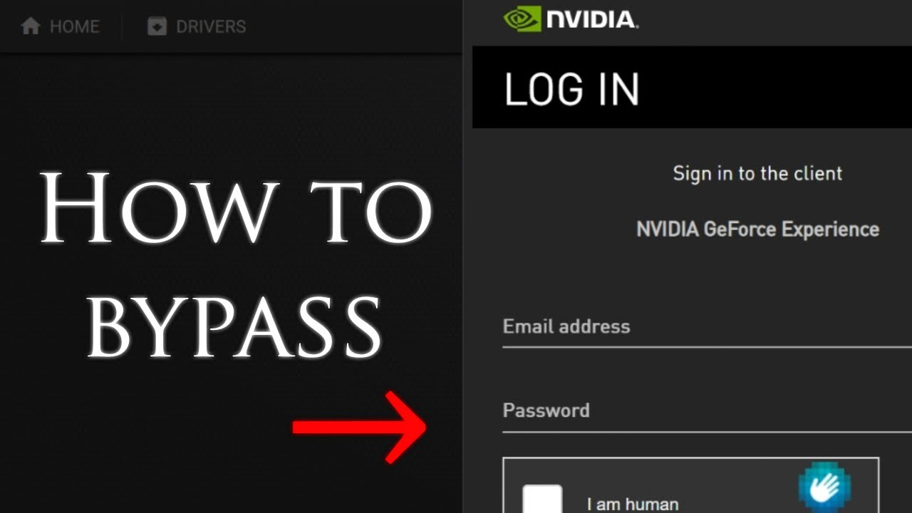How to Bypass Nvidia GeForce Experience Login Screen (and stop their spying)