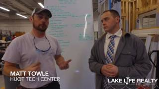 Lake Life Realty visits the Huot Tech Center for an update on the Tiny Home