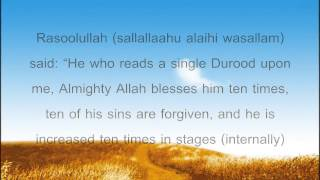 DUROOD SHARIF RECITATION IMPORTANCE VIRTUES AND BENEFITS