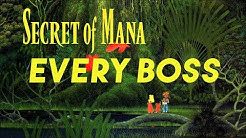 Secret of Mana - All Bosses