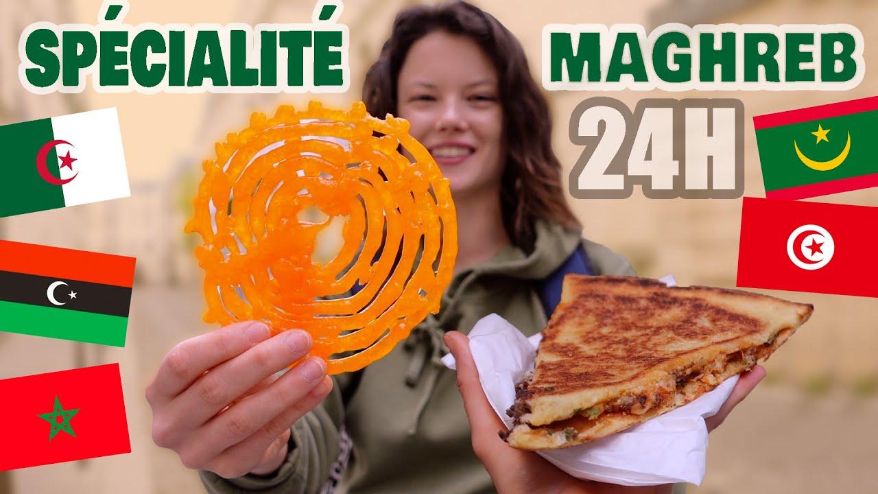 JE MANGE QUE DES STREET FOOD DU MAGHREB PENDANT 24H - Claire