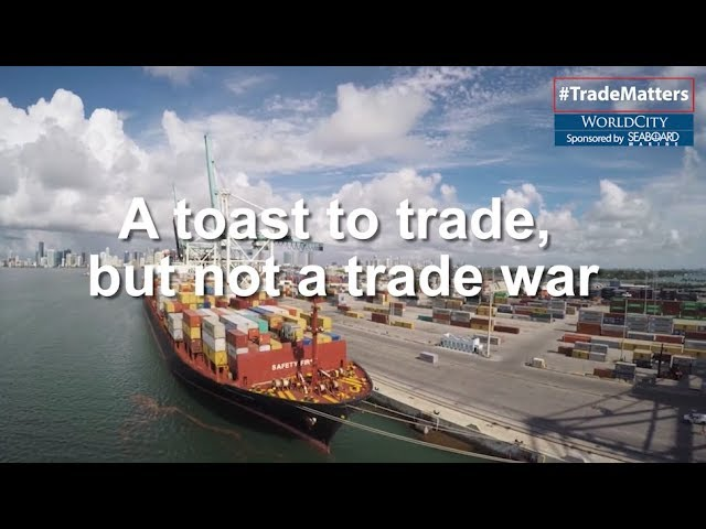 A Toast to Trade, but Not the China Trade War