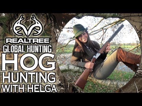 Hunting Wild Boar With Miss Hunter Of Germany 'Helga Wimmer'