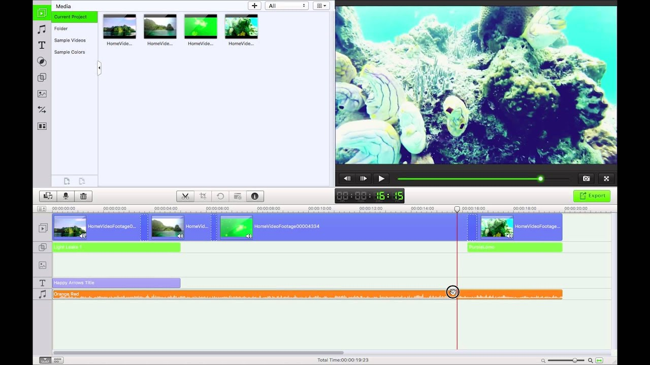 lightworks video editor rotate