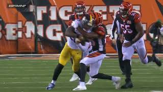 Le'Veon Bell trucks Dre Kirkpatrick: Steelers vs Bengals Week 13