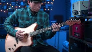 Fender American Acoustasonic Jazzmaster guitar demo