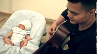 Singing to my Baby Son Greatest Dad of Your Life (Original Song) by JC Van Luyn