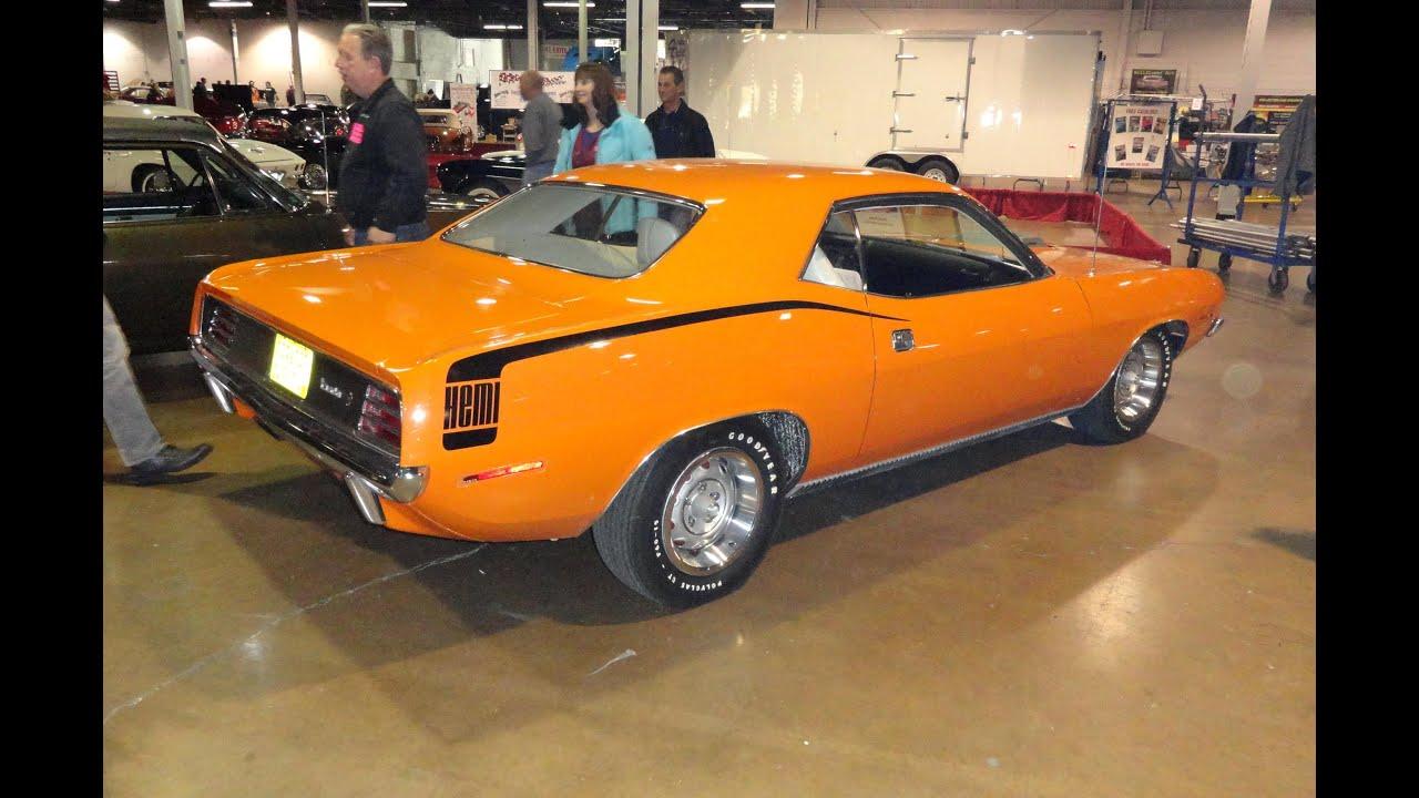 1970 Plymouth Cuda 426 Hemi Cuda Barracuda Orange