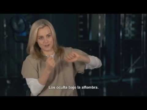 Orange Is The New Black Season 2 Cast Interview Taylor Schilling SUBTITULADO HD