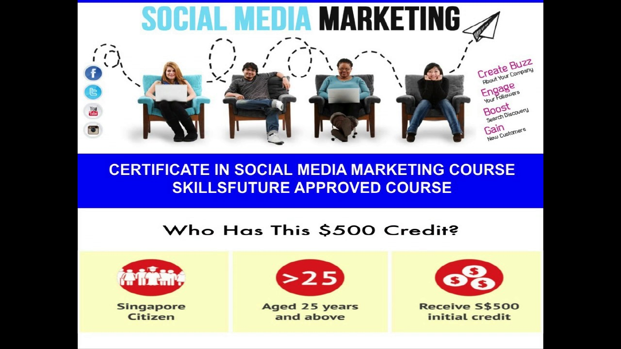Certificate In Social Media Marketing Youtube