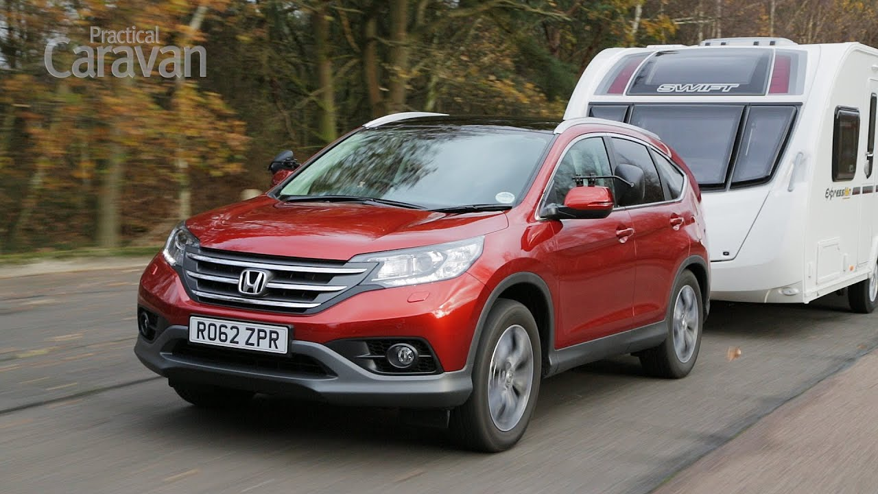 Great Practical Caravan | Honda CR V Diesel | Tow Car Review   YouTube