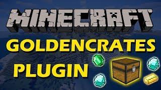 Create custom crates in Minecraft with Golden Crates Plugin